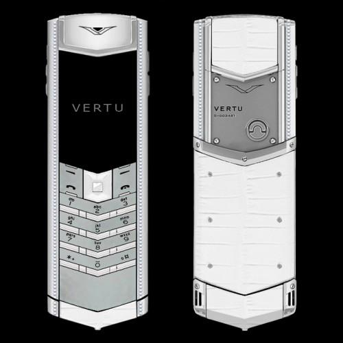 Vertu Signature S Pure White