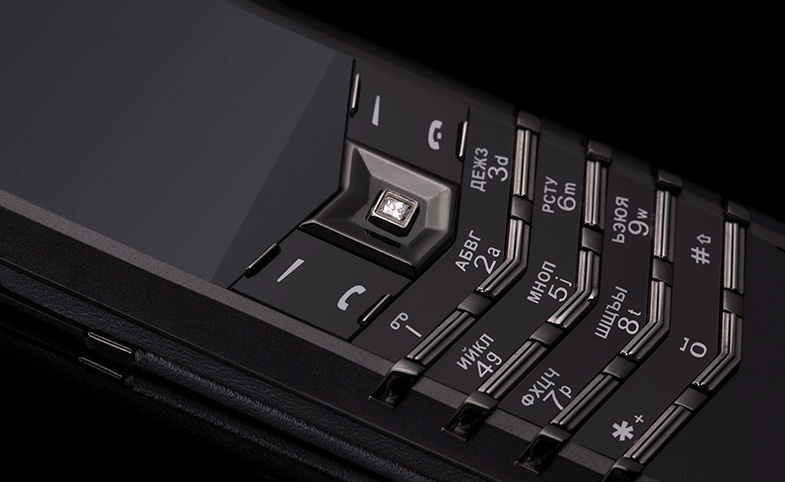 Vertu Signature Pure Black Diamonds