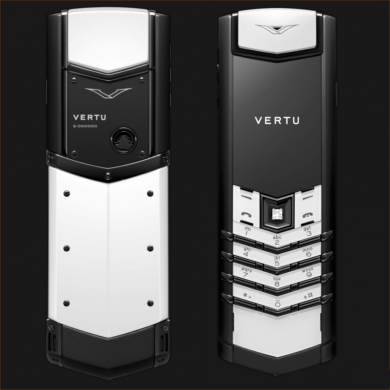 Vertu Signature S Black And White