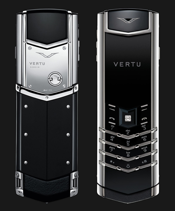 Vertu Signature S Platinum Diamond Select Key