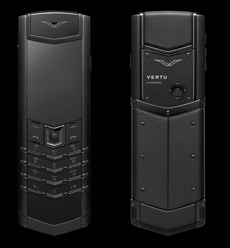 Vertu Signature Pure Black 4