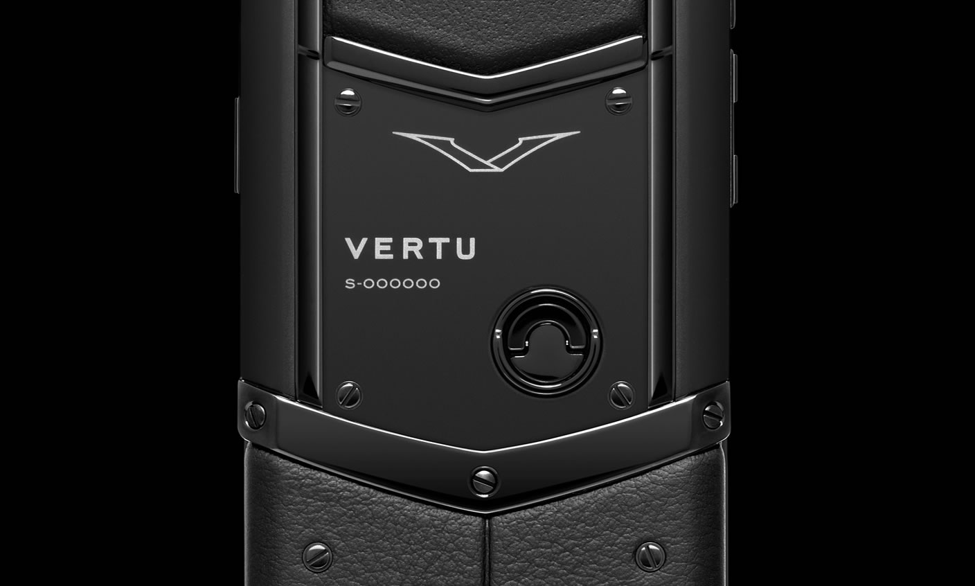 Vertu Signature Pure Black 8