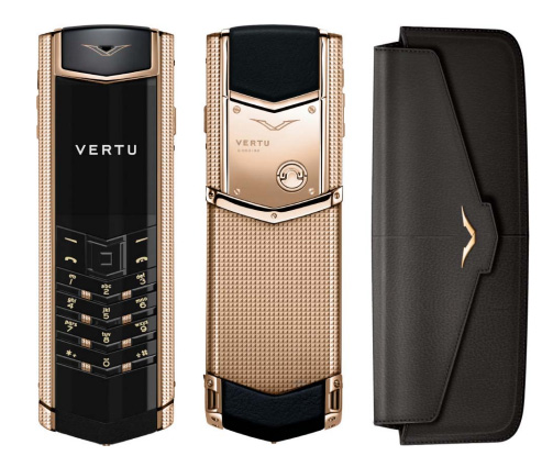 Vertu Signature S Clous de Paris Red Gold 1