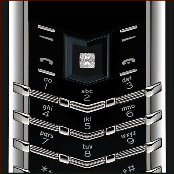 Vertu Signature S Platinum Diamond Select Key