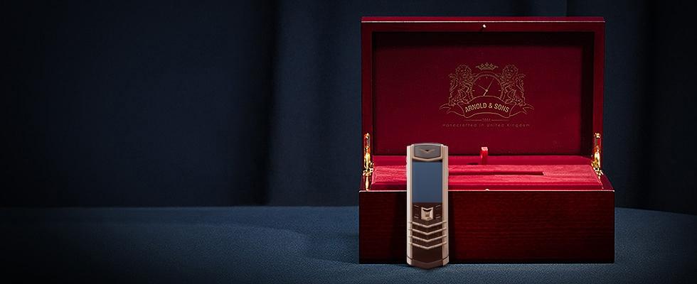 Vertu Signature S Pure Chocolate Rose Gold
